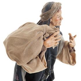 Neapolitan figurine, traveler 30cm s3