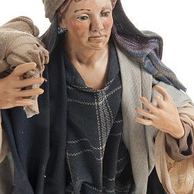 Neapolitan figurine, traveler 30cm s5