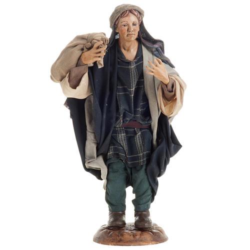 Neapolitan figurine, traveler 30cm 1