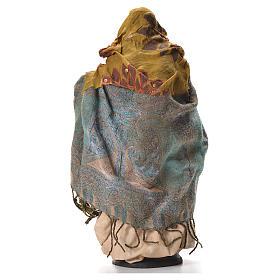 Neapolitan nativity figurine, pregnant woman 30cm s7
