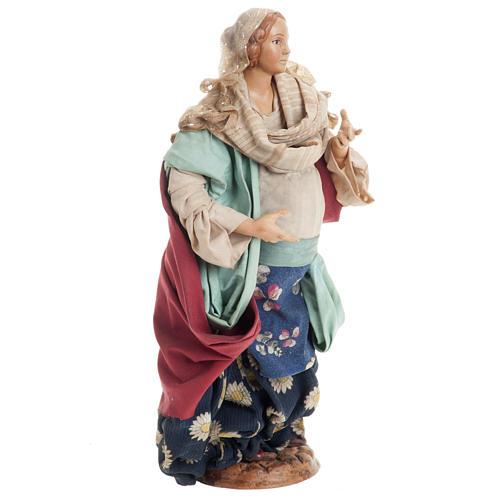 Santon femme enceinte 30 cm crèche Napolitaine 1