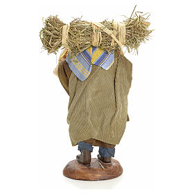Neapolitan nativity figurine, peasant 18cm s3