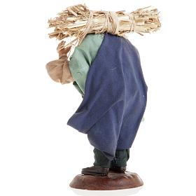 Neapolitan nativity figurine, peasant 18cm s7