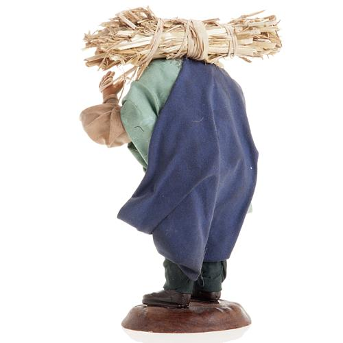 Neapolitan nativity figurine, peasant 18cm 7