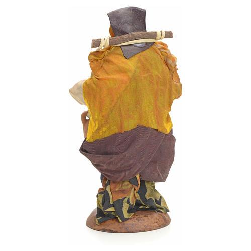 Neapolitan nativity figurine, female water carrier 18cm 8