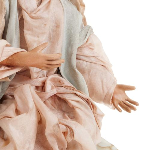 Neapolitan nativity set, Holy family 18cm 5