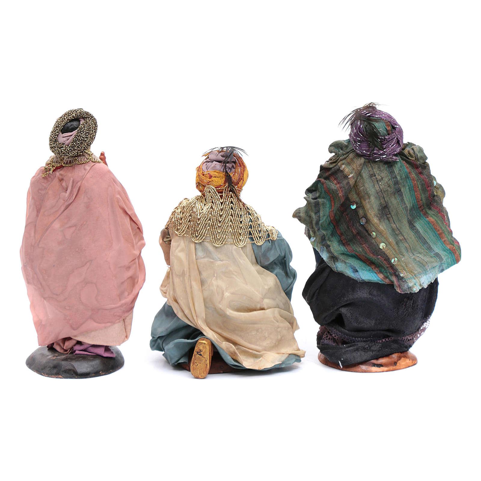 Neapolitan nativity figurines, Magi 18cm 4