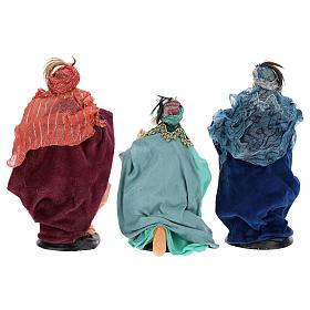Neapolitan nativity figurines, Magi 18cm s5