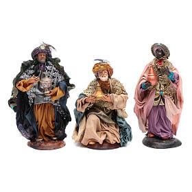 Neapolitan nativity figurines, Magi 18cm s1