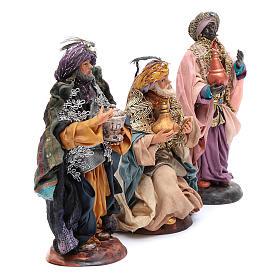 Neapolitan nativity figurines, Magi 18cm s3