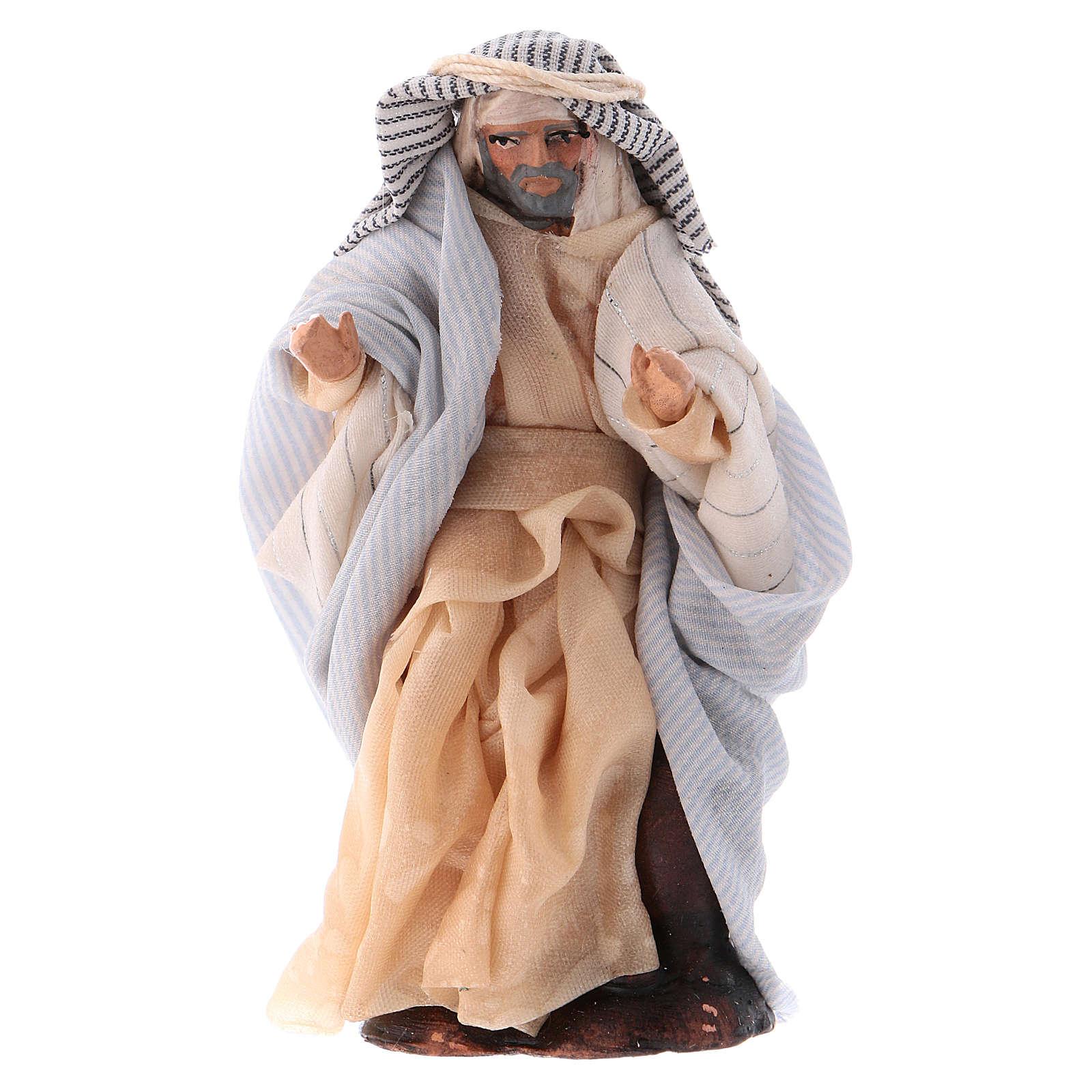Arabo con brocche 8 cm presepe Napoli 4