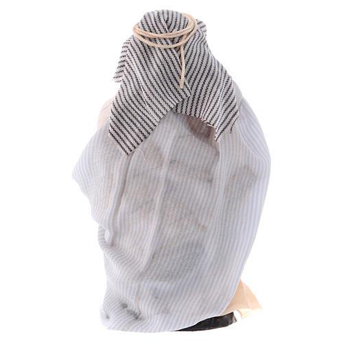Arabo con brocche 8 cm presepe Napoli 2