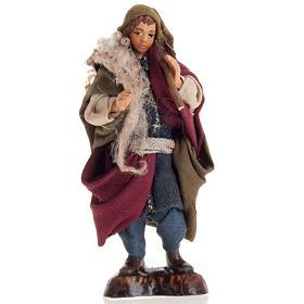 Neapolitan Nativity Scene: Neapolitan nativity figurine, piper 8cm