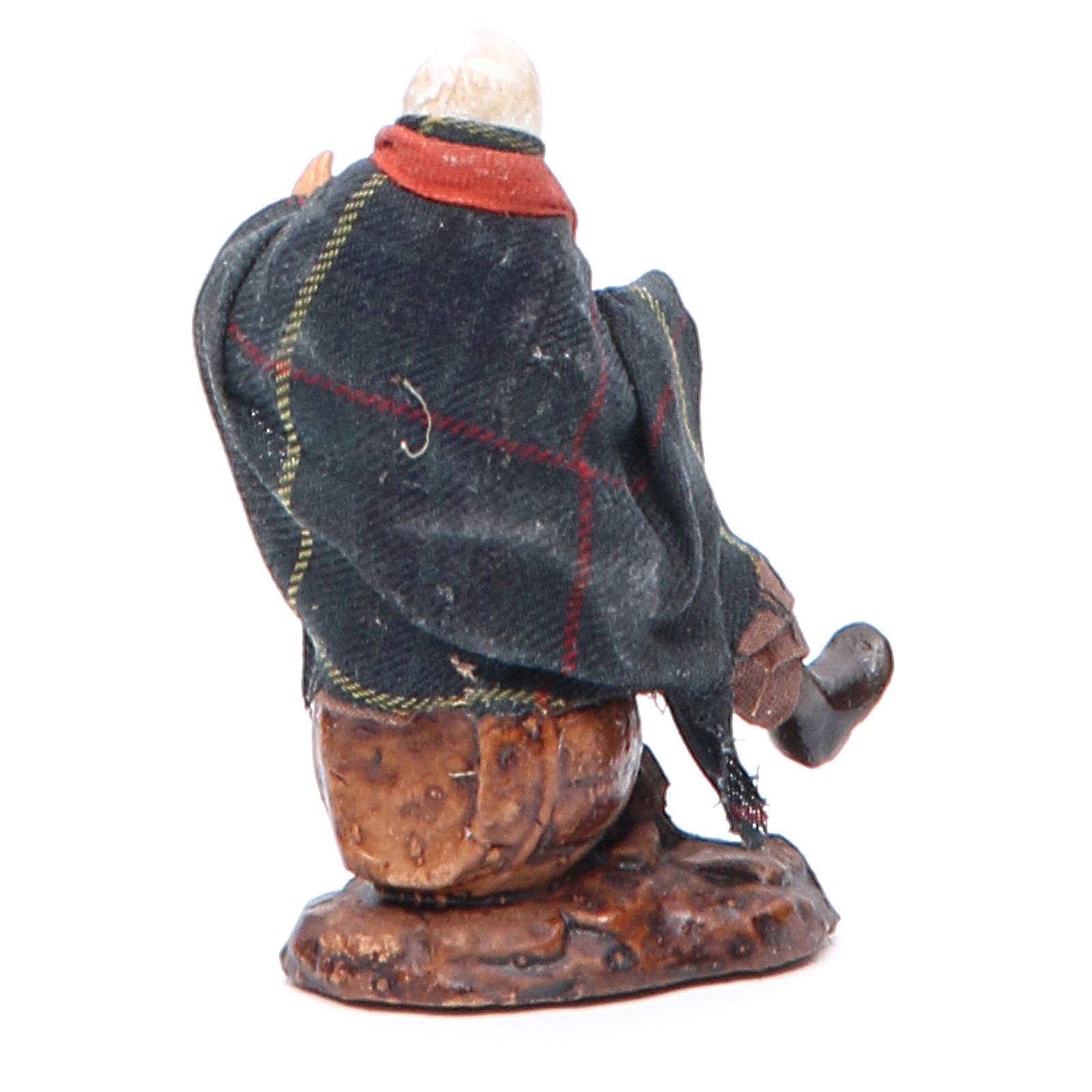 Neapolitan Nativity figurine, Drunk man 8cm 4