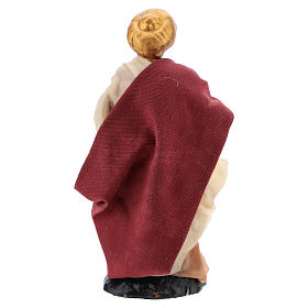 Neapolitan Nativity figurine, Man with turban 8cm s4