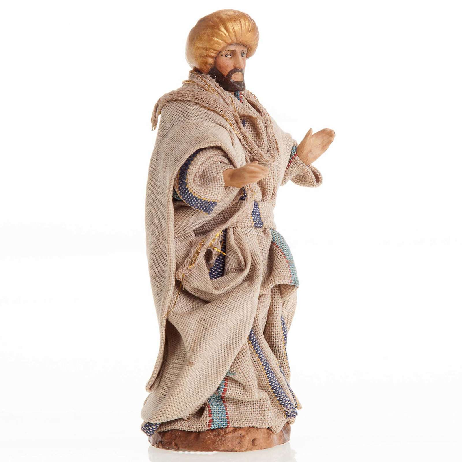 Santon crèche Napolitaine 8 cm homme Arabe 4