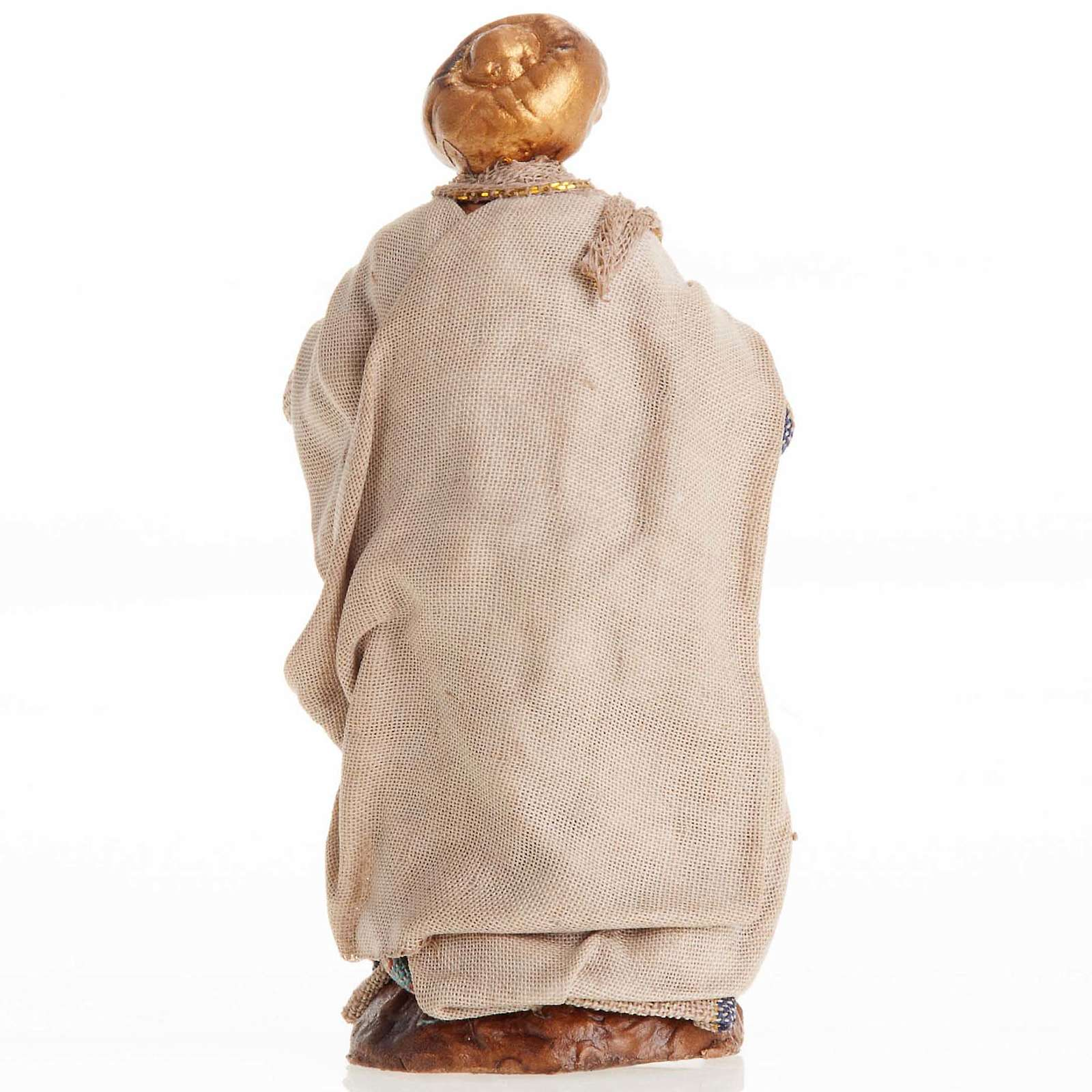 Neapolitan Nativity figurine, Man with turban 8cm 4