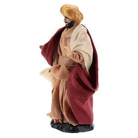 Neapolitan Nativity figurine, Man with turban 8cm s2