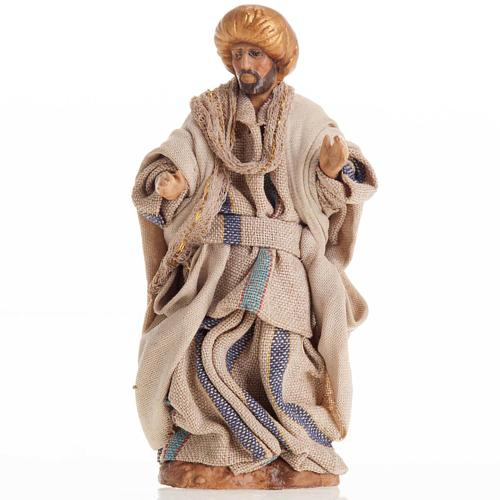 Neapolitan Nativity figurine, Man with turban 8cm 1