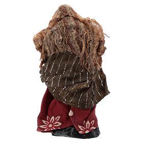 Mujer con niño 8 cm belén napolitano s4