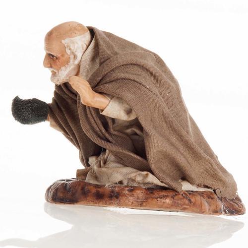 Neapolitan Nativity figurine, Beggar 8cm 2