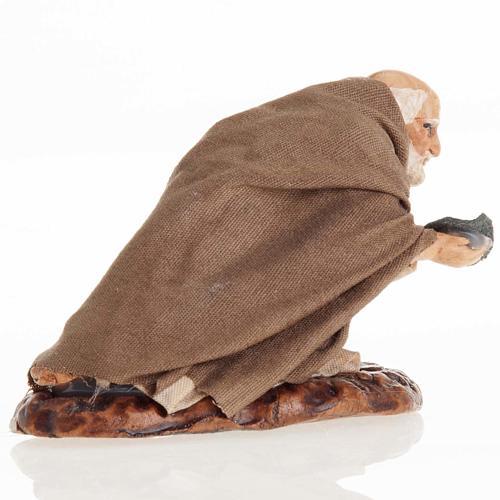 Neapolitan Nativity figurine, Beggar 8cm 3