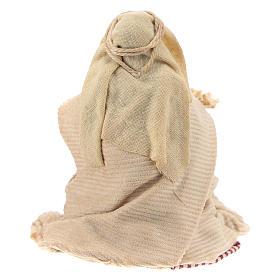 Neapolitan Nativity figurine, Kneeling beggar 8cm s4