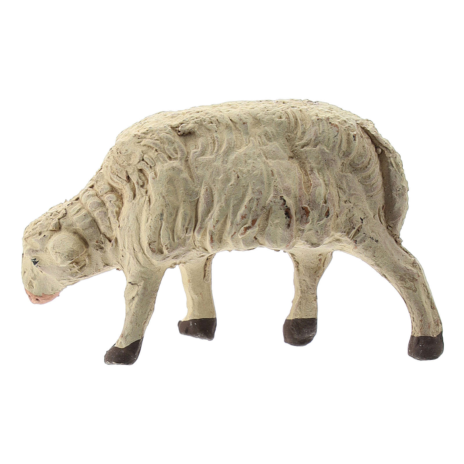 Neapolitan Nativity figurine, sheep 12cm 4