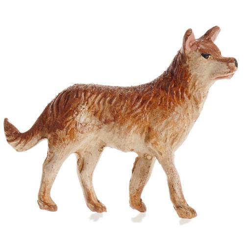 Neapolitan Nativity figurine, Dog 12cm 1