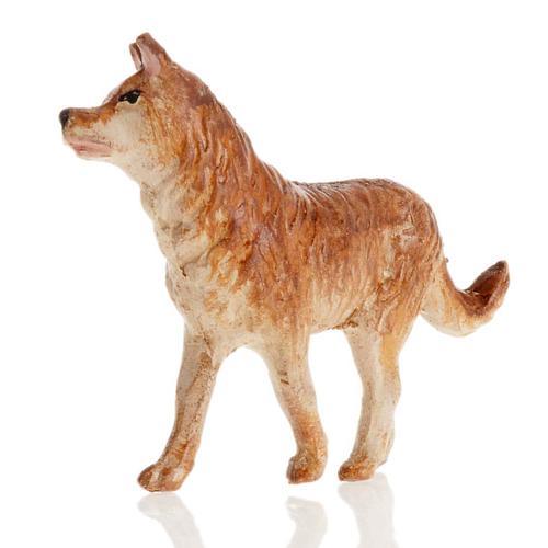 Neapolitan Nativity figurine, Dog 12cm 2