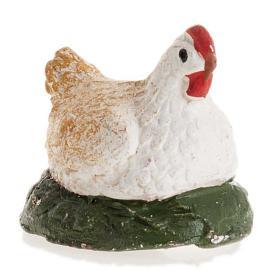 Neapolitan Nativity figurine, Chicken 12cm s1