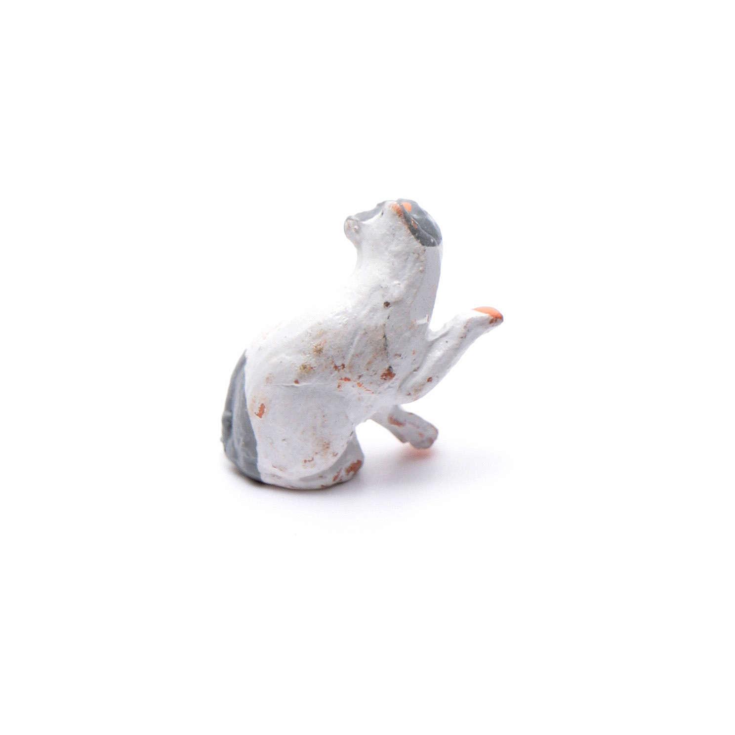 Gatto 8 cm presepe napoletano 4