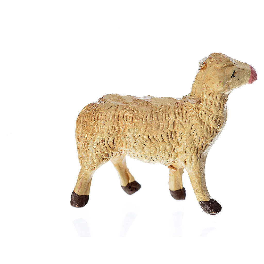 Neapolitan Nativity figurine, Sheep 8cm 4