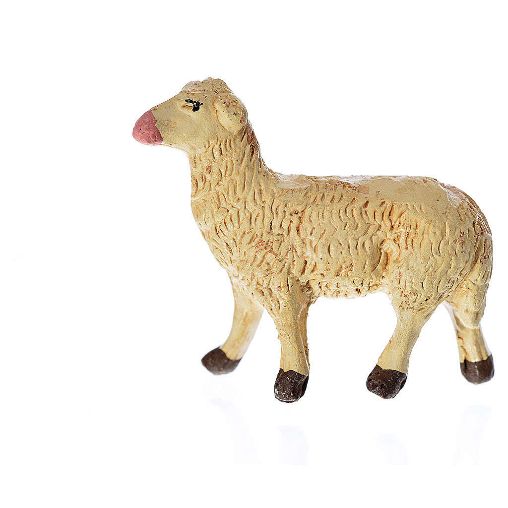 Neapolitan Nativity figurine, Sheep 8cm 4