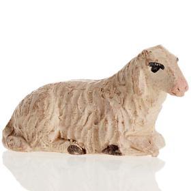 Neapolitan Nativity figurine, Laying sheep 8cm s1