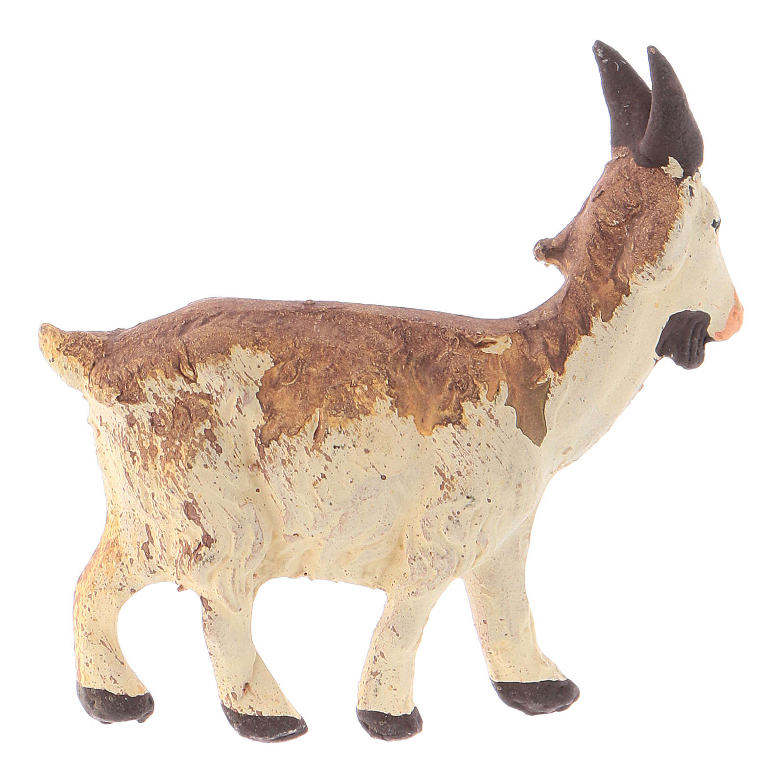 Neapolitan Nativity figurine, Little goat 8cm 4