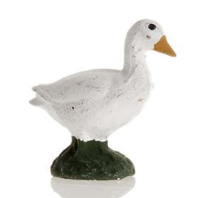 Neapolitan Nativity figurine, Goose 8cm s1