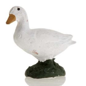 Neapolitan Nativity figurine, Goose 8cm s2