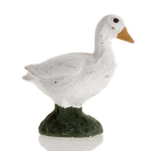 Neapolitan Nativity figurine, Goose 8cm 1