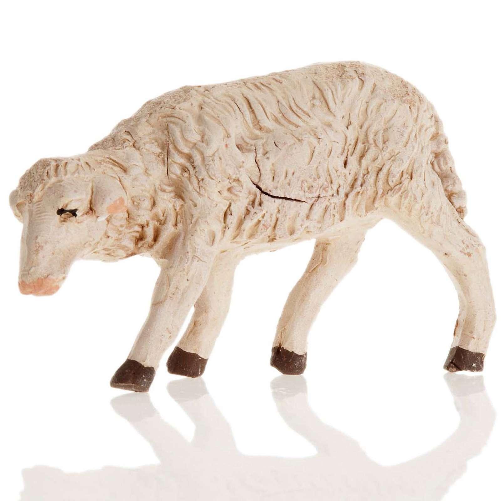 Neapolitan Nativity figurine, Sheep 14cm 4
