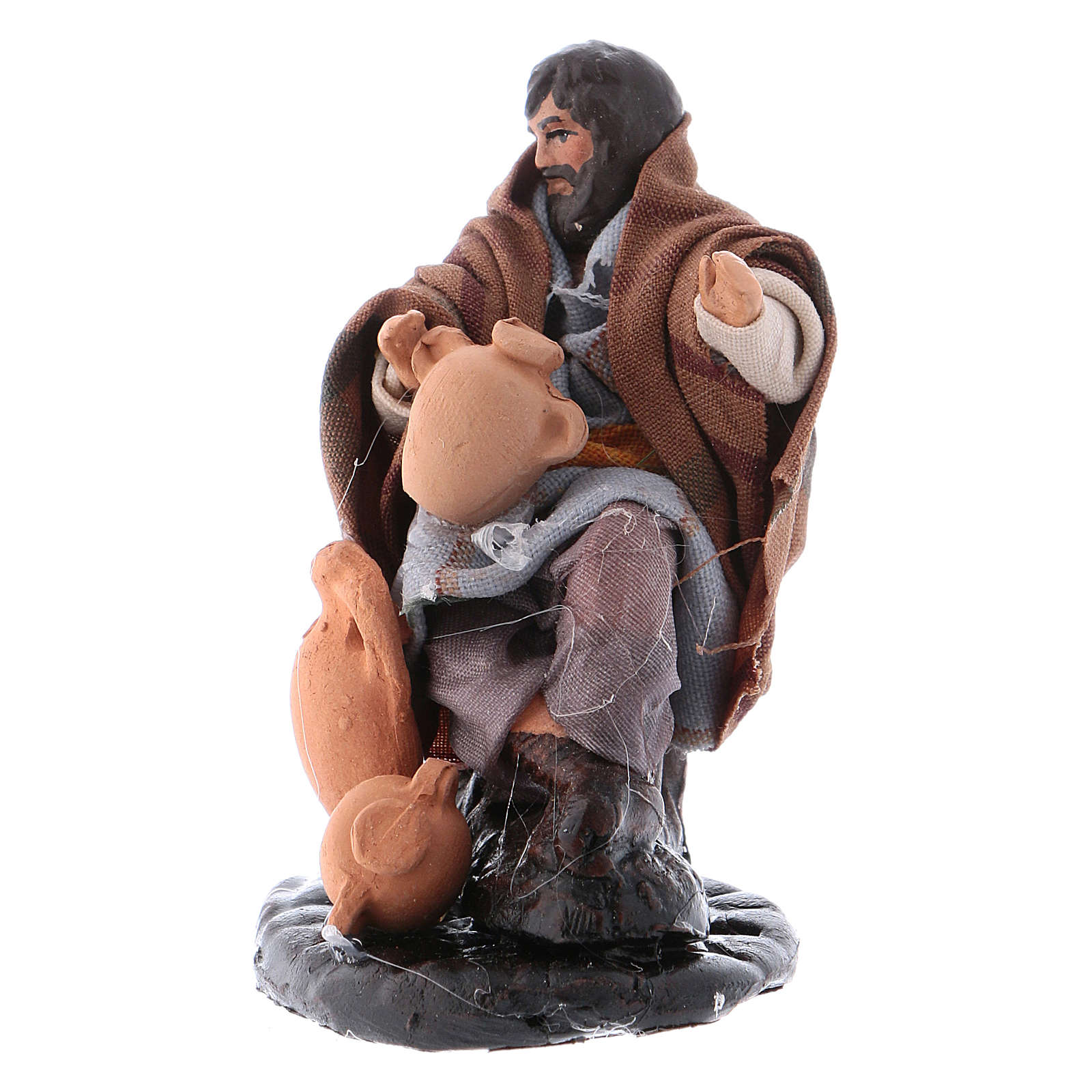 Neapolitan Nativity figurine, Jug repairman 8cm 4