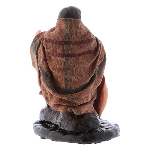 Neapolitan Nativity figurine, Jug repairman 8cm 3