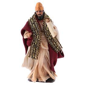 Neapolitan Nativity figurine, King Herod 8cm s1