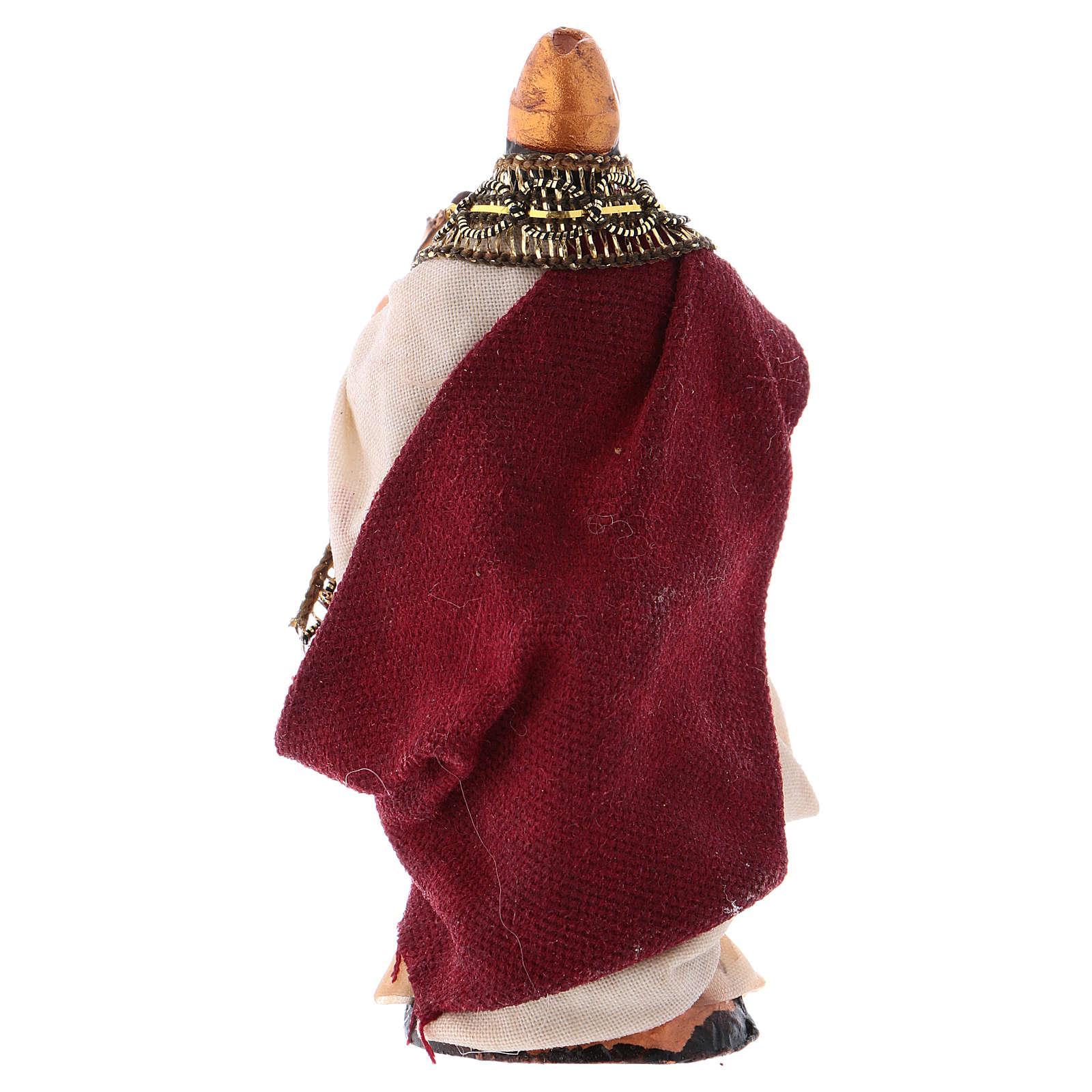 Rey Herodes con edicto 8cm. belén napolitano 4