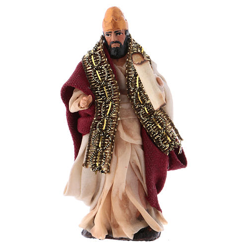 Neapolitan Nativity figurine, King Herod 8cm 1