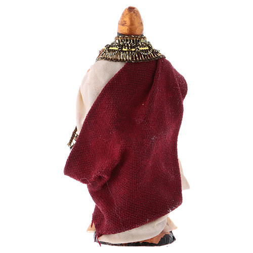 Neapolitan Nativity figurine, King Herod 8cm 2