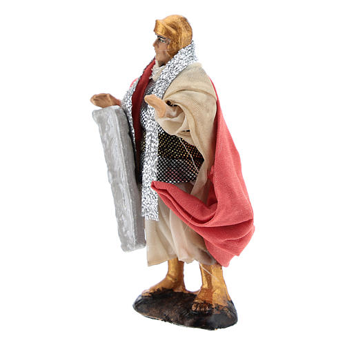 Neapolitan Nativity figurine, Warrior 8cm 2
