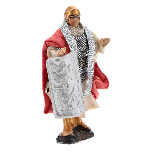 Neapolitan Nativity figurine, Warrior 8cm 3