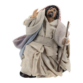 Neapolitan Nativity figurine, Arabian 8cm s1