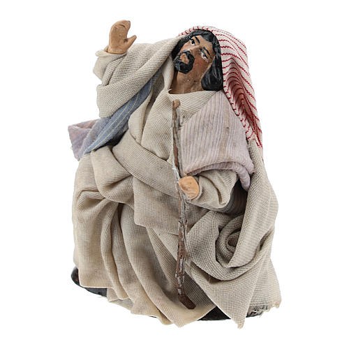 Neapolitan Nativity figurine, Arabian 8cm 2
